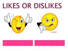 unit 1 lesson 3 likes or dislikes