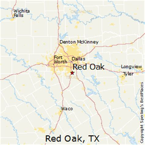 oak texas map best places to live in oak texas