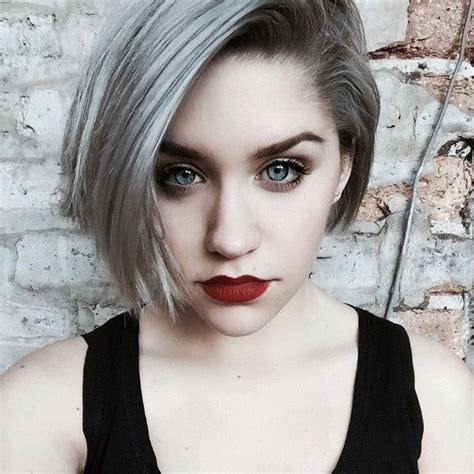 why are grey hairs harder to cut 1000 images about hair ideas on pinterest mohawks cute