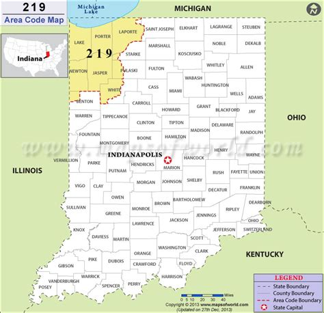 printable us area code list 219 area code map where is 219 area code in indiana