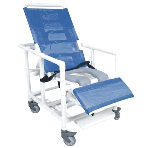 reclining commode chair healthline bariatric reclining shower commode chair