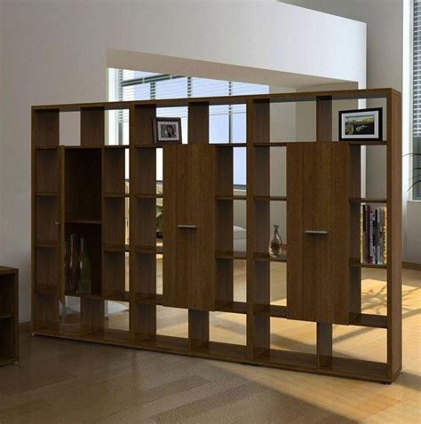 custom elegant room dividers for small apartment with wood