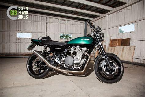 Island Kawasaki by Kawasaki Z Umbauten Green Island Bikes