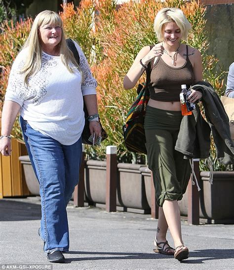 paris jackson mother paris jackson and mother debbie rowe look content in snap
