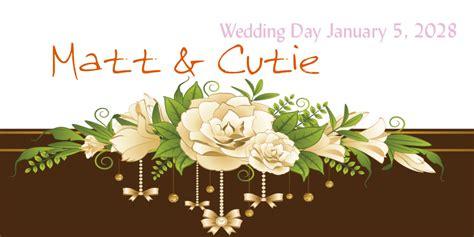 Wedding Banner Photos by Best Wedding Banner Photos 2017 Blue Maize