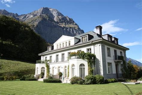 Chalet Home Plans by Extraordinary Country Estate In Glarus Switzerland