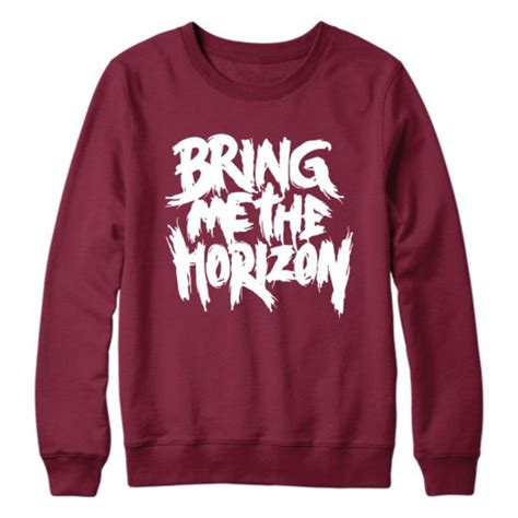 Sweater Bring Me The Horizon Redmerch bring me the horizon sweatshirt jumper pullover s
