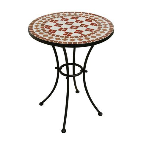 tavolo in ferro battuto tavolo da giardino ferro battuto rotondo mosaico san marco