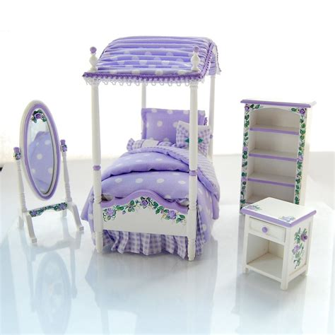 girls canopy bedroom sets lavender purple twin girls canopy bed bedroom set hand