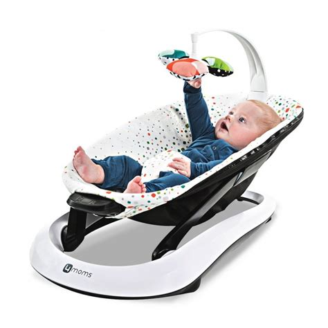 multi recline baby bouncer buy 4moms bounceroo baby bouncer from buggybaby