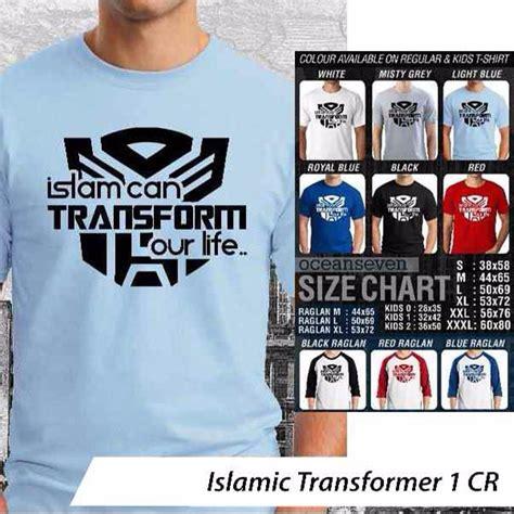 jual kaos islamic transformer 1 di lapak dahlia