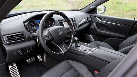 maserati interior photos maserati levante diesel 2016 review by car magazine