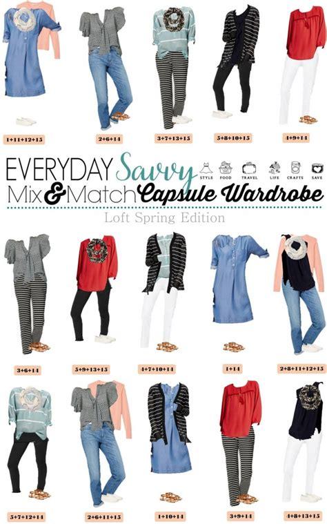 Wardrobe Style by Loft Capsule Wardrobe Mix And Match