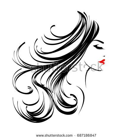 hair logo stock images, royalty free images & vectors