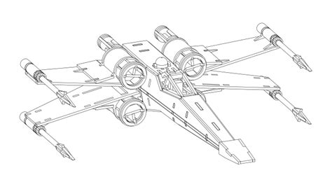 x wing starfighter coloring page star wars x wing fighter coloring pages sketch coloring