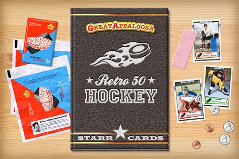 make a hockey card custom hockey cards retro 50 series cards