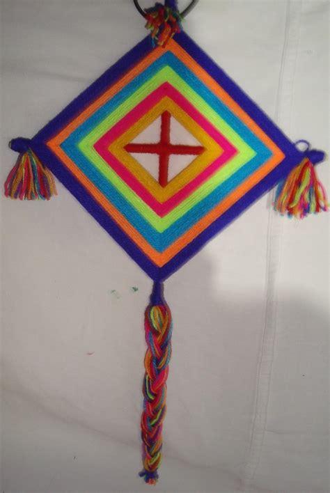 imagenes del ojo de dios ojo de dios huichol 80 00 en mercado libre
