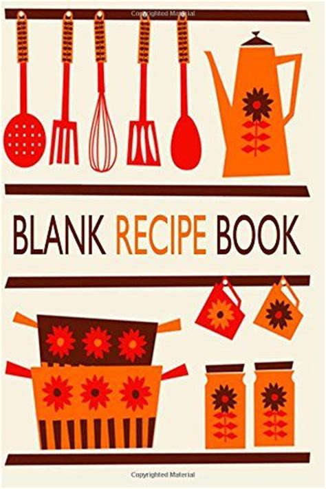 cookbook template recipe templates and recipe journal on