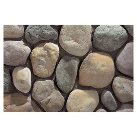 home depot decorative rock 2000 lbs river rock 828508 the home depot