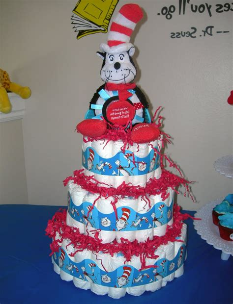 Dr Seuss Baby Shower Cakes by Dr Seuss Baby Shower Time For The Holidays