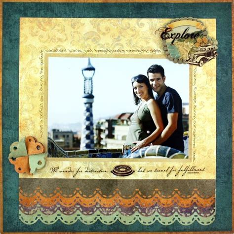 scrapbook layout creator 61 best images about punches cm border maker on pinterest