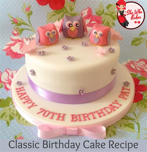 Birthday Cake by Classic Madeira Birthday Cake Recipe She Who Bakes