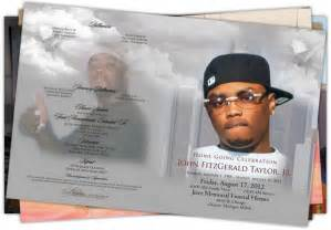 Memorial Program Samples Obituary Printing Detroit