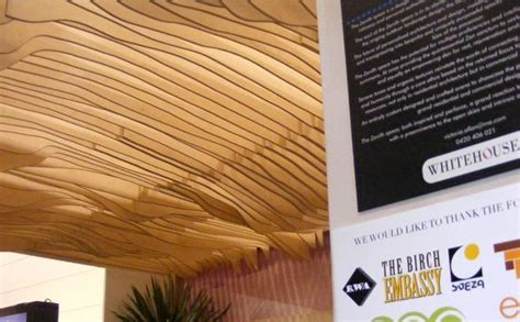 Birch Plywood Ceiling At Grand Designs Live 2012 Birch Plywood Ceiling Ideas