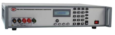 precision programmable resistor amtest tm prs 300 precision programmable resistance decade