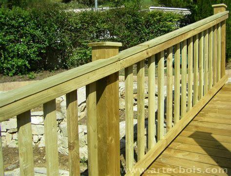 garde corp bois pour terrasse 2756 artecbois terrasses en bois et amenagements exterieurs en
