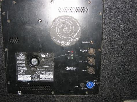 compact  subwoofer  das audio item