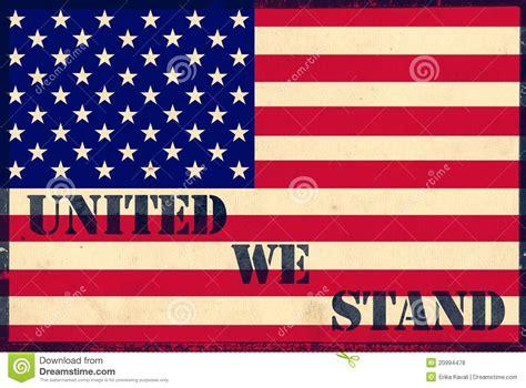 united  stand stock illustration illustration  slogan