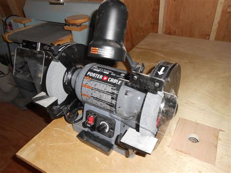 porter cable bench grinder review review of the porter cable 8 quot grinder by thewoodworker01 lumberjocks com