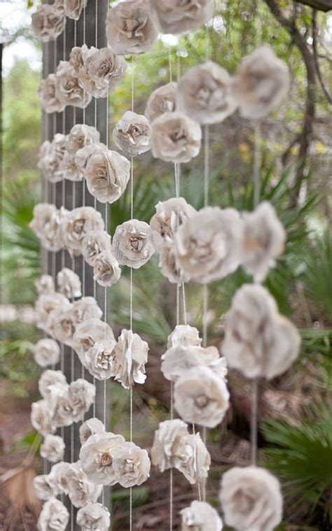 How To Make Paper Flowers For A Wedding - wedding paper flowers wedding flair