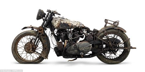 rolls royce motorcycle rare brough superior barn find worth rm2 2 million