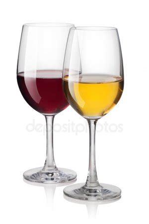 Bicchieri Da Bianco E Rosso Bicchiere Di Bianco E Rosso Foto Stock 169 Gresey