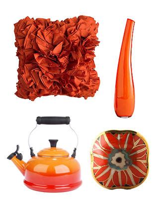 orange home decor accents burnt orange decor apartments i like blog