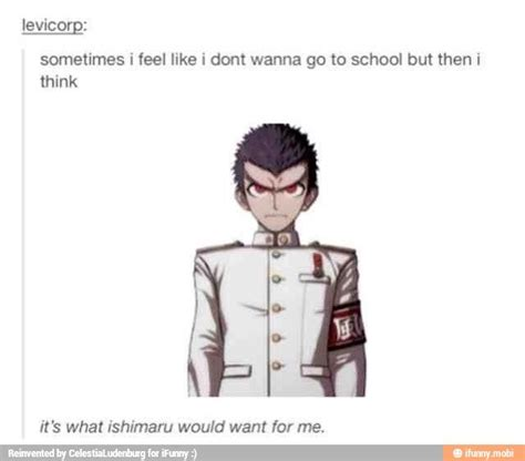 fakta anime danganronpa i m going to think about this post every morning before i