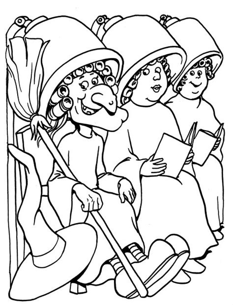 hairdresser coloring pages free coloring pages of nail salon