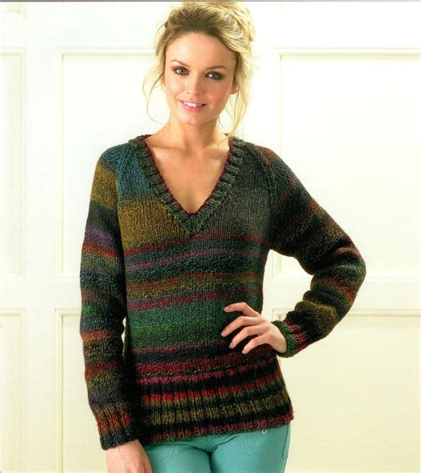 v neck pullover knitting pattern sweaters knitting patterns