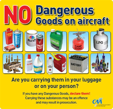 United Airline Baggage Limit by Dangerous Goods Checked In Baggage Baggage Air New