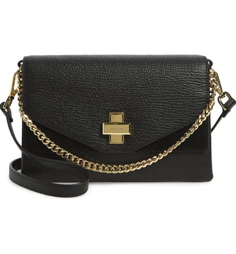 ted baker london bethan leather crossbody bag nordstrom