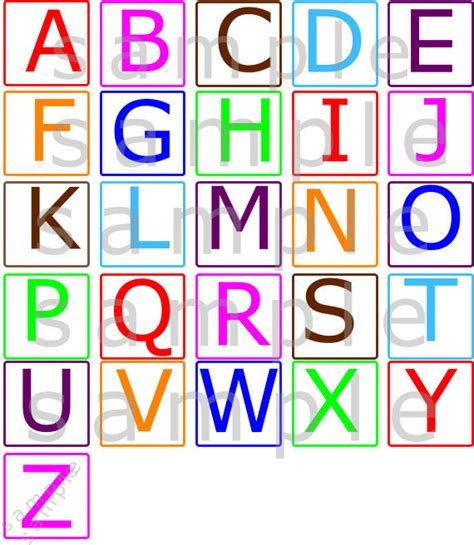 uppercase alphabet flash cards printable uppercase abcs alphabets nursery wall decal uppercase abcs