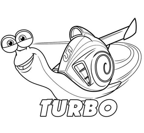 printable turbo coloring page click on the image to download this awesome turbo
