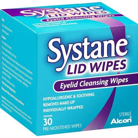 eye wipes systane lid wipes 32 pads eye other eye care