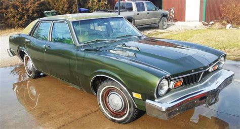 green ford maverick green with envy 1976 ford maverick