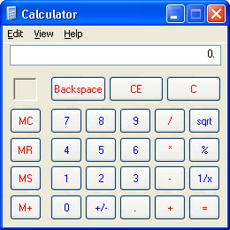 Calculator Xp | guidebook gt screenshots gt windows xp pro