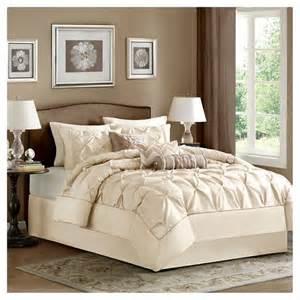 piedmont 7 piece comforter set ivory king target