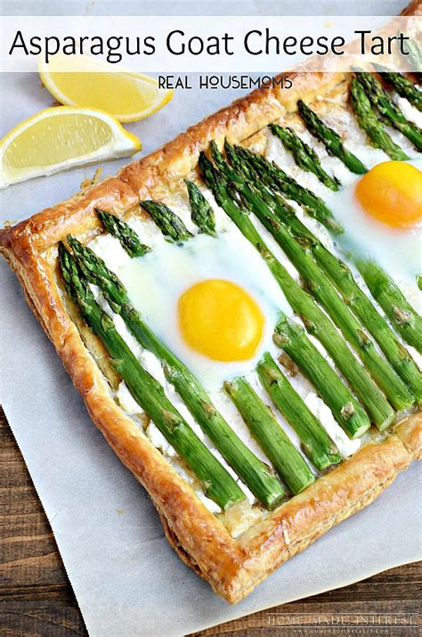 goat cheese tart asparagus goat cheese tart home made interest