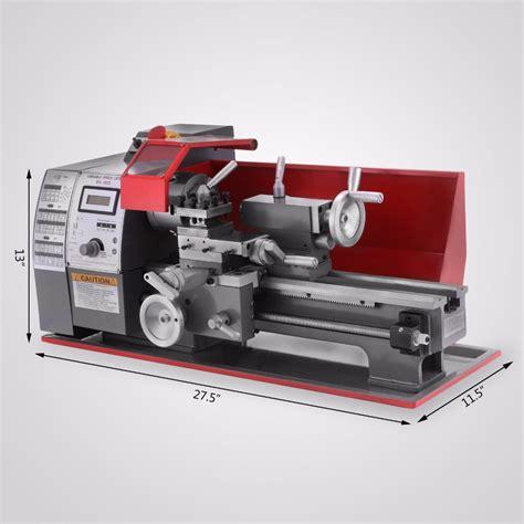 woodworking lathe machine 600w metal mini lathe metalworking woodworking power tool